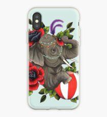 Circus Elephant iPhone Case