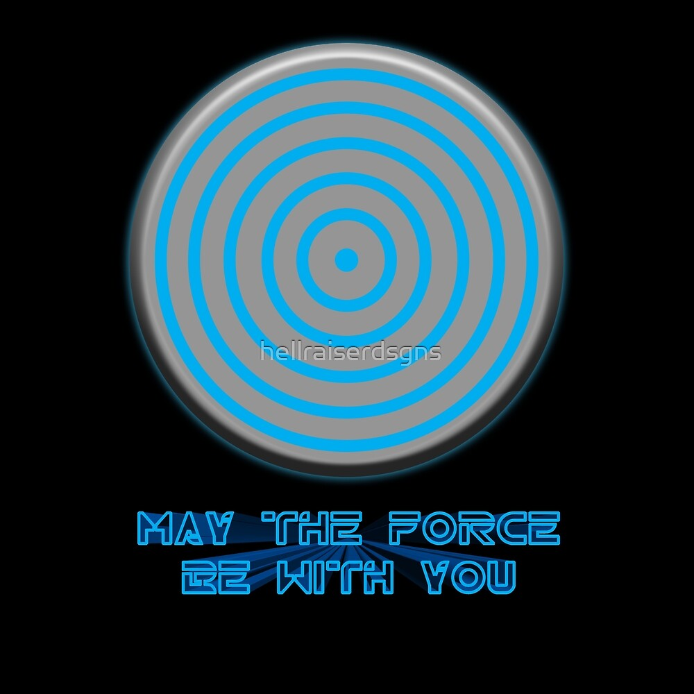 TRON May the Force Be With You by hellraiserdsgns
