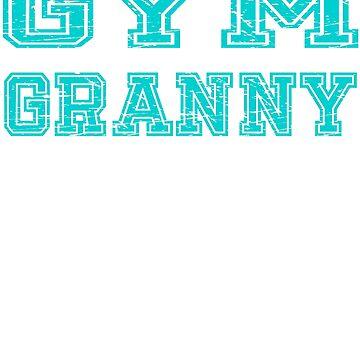 Gym Granny by troy1969