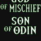 God of Mischief by zombiemama