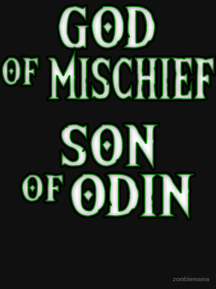 God of Mischief by zombiemama