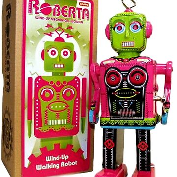 Vintage TOY Robot - Roberta by WigOutlet