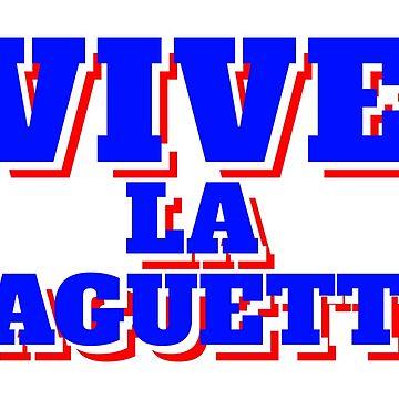 France - Vive La Baguette by Skullz23