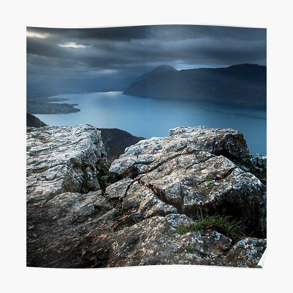 Lac du Bourget Poster