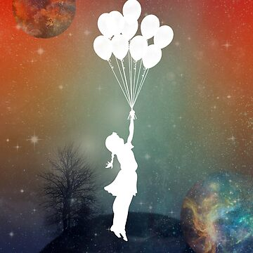 up with the balloons by motiashkar
