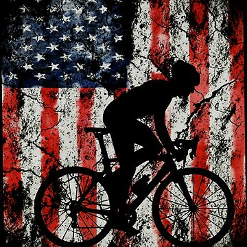 Bicycle american usa flag by furioso