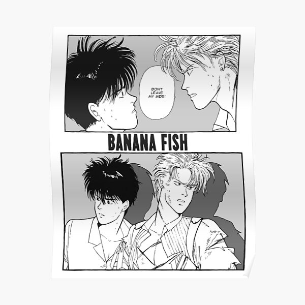 BANANA FISH - Stay by my side Poster
