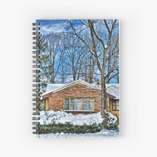Sunny Winter Afternoon Spiral Notebook