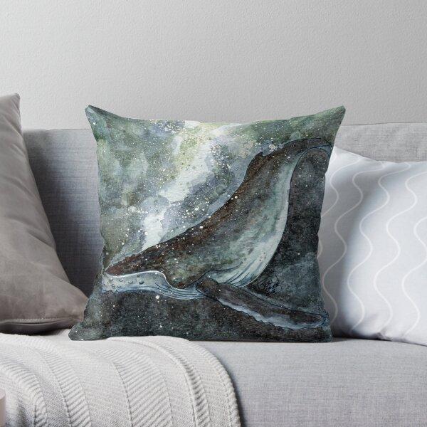 Humpback Throw Pillow