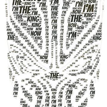 I'm your king Black Superhero Villian tshirt by kmpfanworks