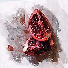 pomegranate by Rebecca Tun