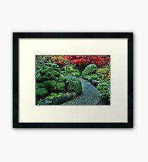 Butchart Gardens Framed Print