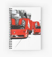 Ferrari FXX Spiral Notebook