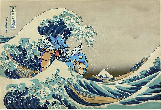 The Great Wave Off Gyarados by Fabio Segato