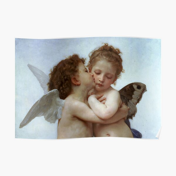Cupid and Psyche Children Particular Poster