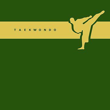 Taekwondo Stripes Yellow Belt by sher00