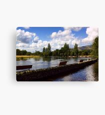 The River Teith Canvas Print