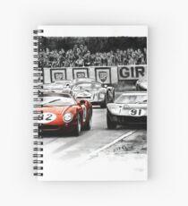 Ferrari 250 Le Mans  Spiral Notebook