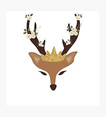 I'm the queen Reindeer  Photographic Print