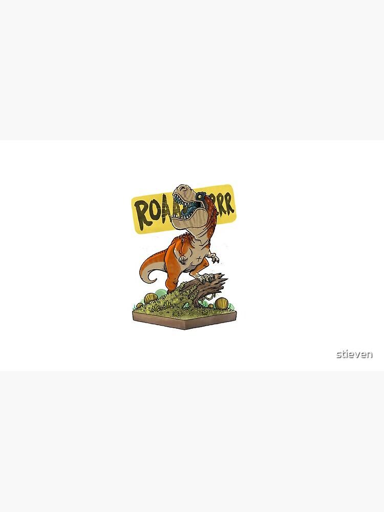 Rex Roars! by stieven