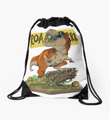 Rex Roars! Drawstring Bag