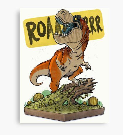 Rex Roars! Canvas Print