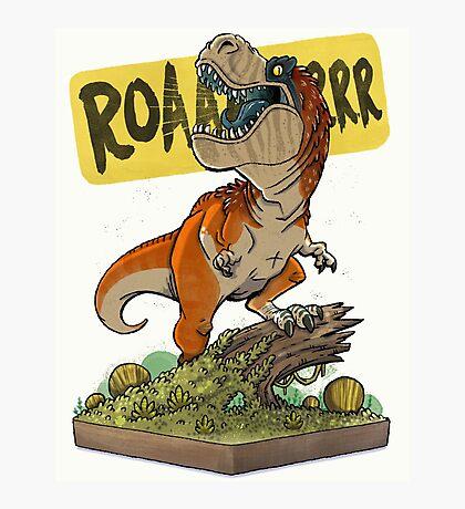 Rex Roars! Photographic Print