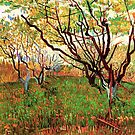 Vincent van Gogh, Orchard in Blossom by naturematters
