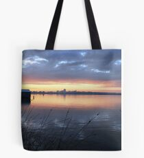 Crawley Boatshed by Sunrise Tote Bag