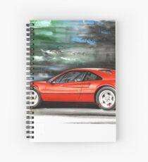 Ferrari 308 GTB Spiral Notebook