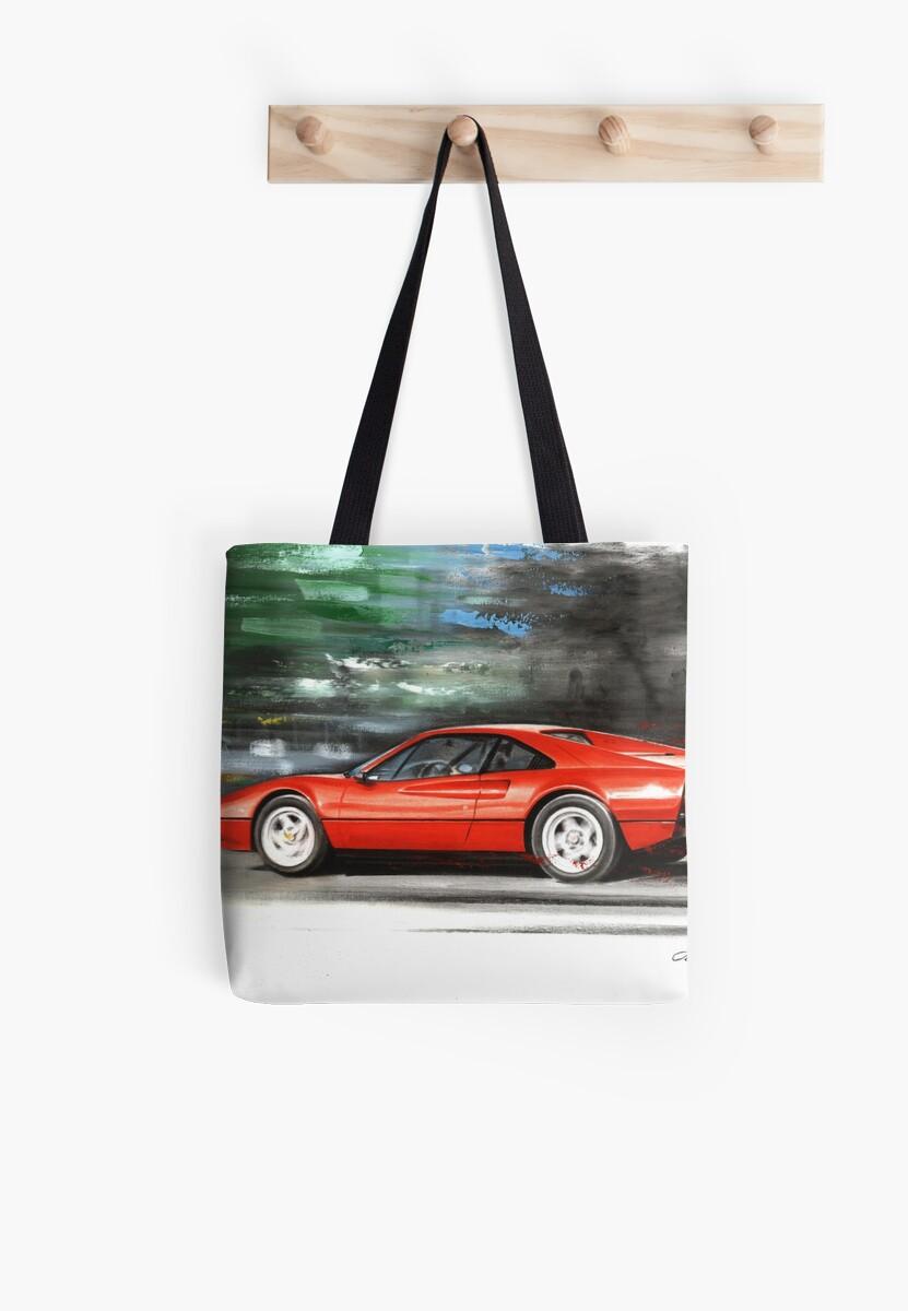 537b8f8c3a54 Bolsas de tela «Ferrari 308 GTB» de Artem Oleynik