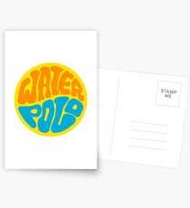 Wasser Polo Postkarten