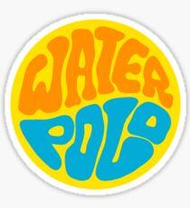 Wasser Polo Sticker