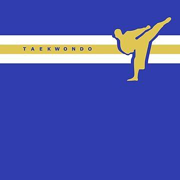 Taekwondo Stripes Yellow Stripe by sher00