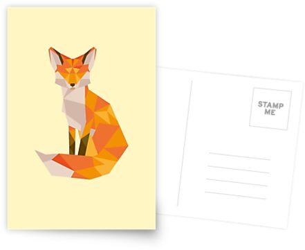 Geometrischer Fuchs von Jamie H