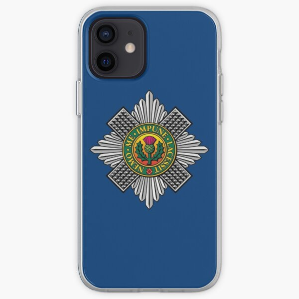 THE SCOTS GUARDS iPhone Soft Case