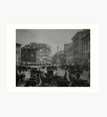 Piazza di Spagna Art Print