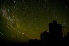 Lilimur Silo Star Trail by Murray Wills