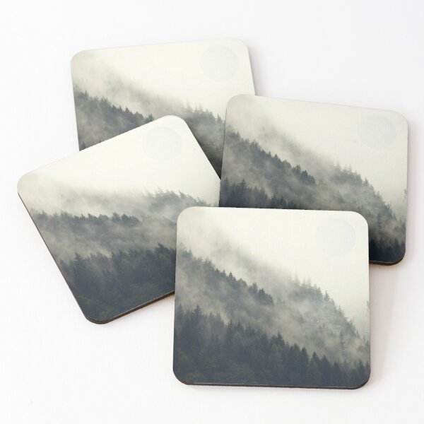Forest Moon Coasters (Set of 4)