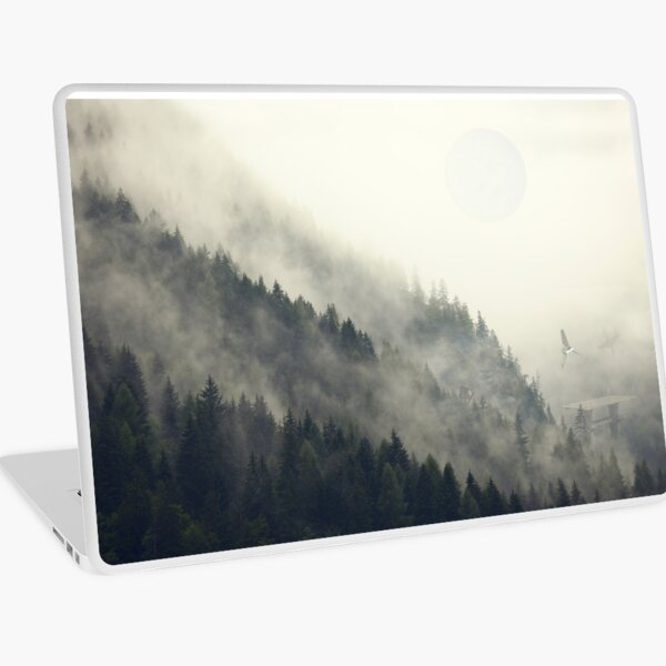Forest Moon Laptop Skin