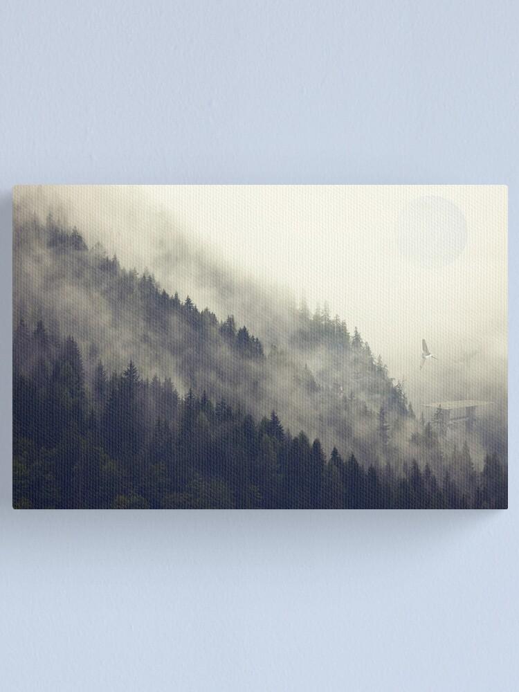Alternate view of Forest Moon Canvas Print