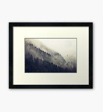 Forest Moon Framed Print