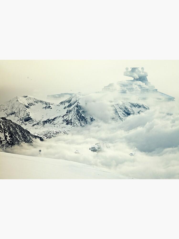 Frozen planet by andywynn