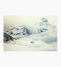 Gefrorener Planet Fotodruck