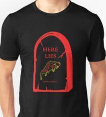 Here Lies Pizza [ Dark Shirts ] Unisex T-Shirt