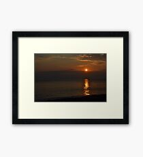 When the sun comes out Framed Print