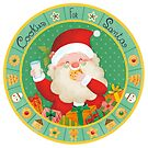 Cookies for Santa and carrots for the reindeers by Angela Sbandelli