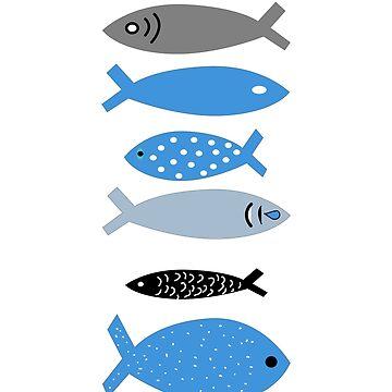 Fish Collection Fish Fishing Fisherma Fishing Hook by yoddel