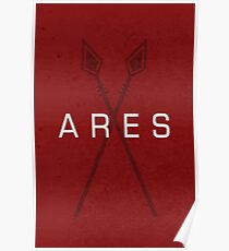 ARES - griechische Mythologie Poster