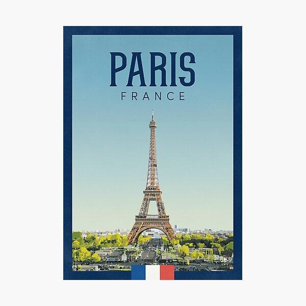 Paris, France Photographic Print